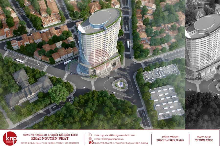 Thiết kế khách sạn Nha Trang khiến bất kỳ du khách nào cũng bị chinh phục