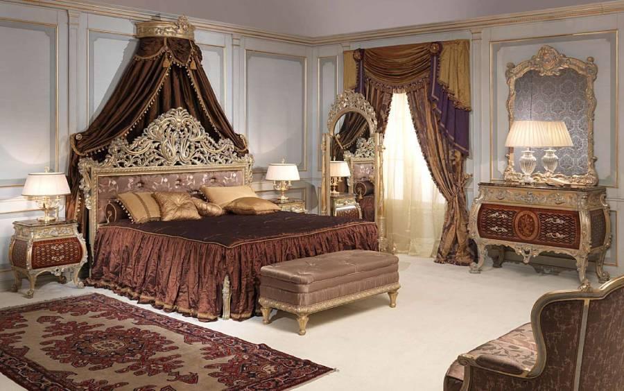 Nội thất cổ điển với phong cách hoàng gia