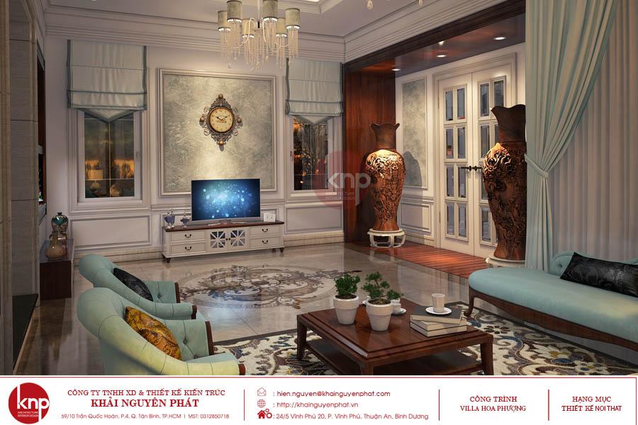 Phòng khách đẹp và sang trọng như quý ông lịch lãm