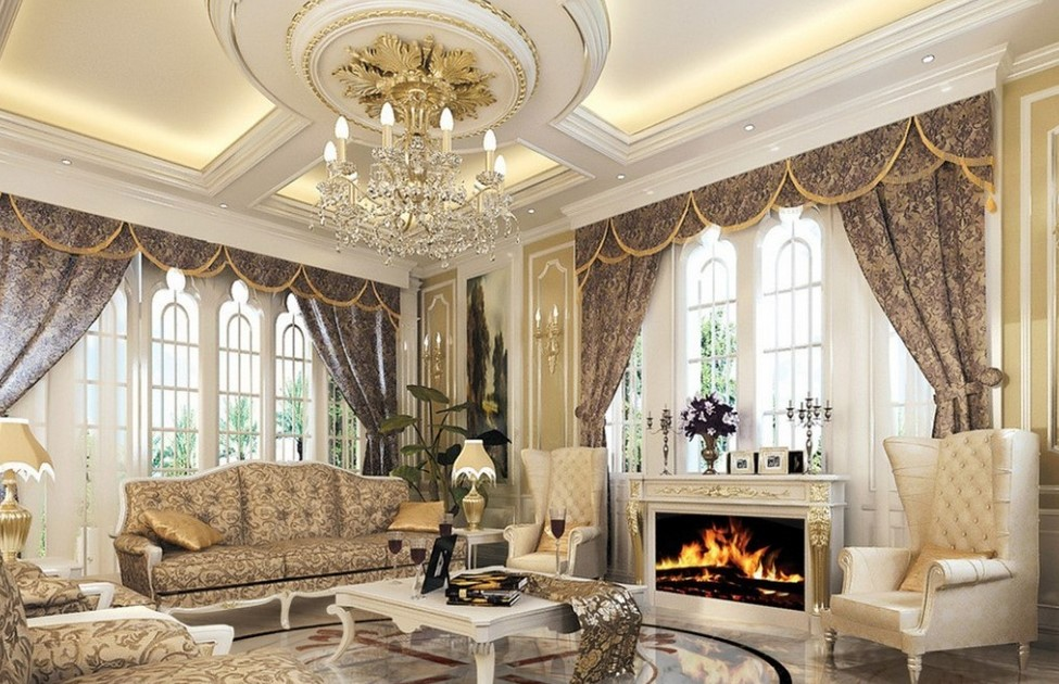 Ánh sáng là yếu tố quan trọng trong không gian nội thất cổ điển