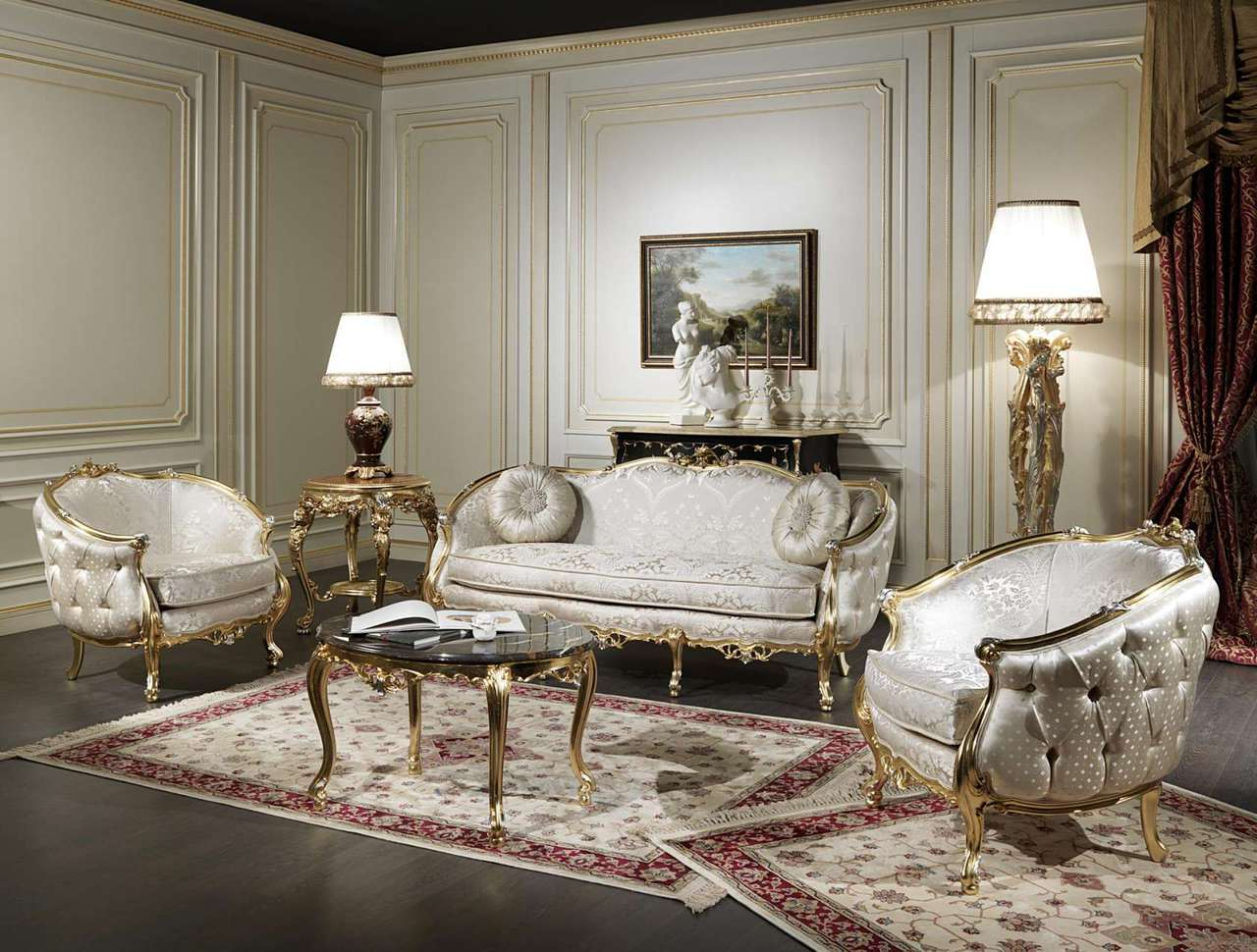 Thiết kế nội thất cổ điển đẹp