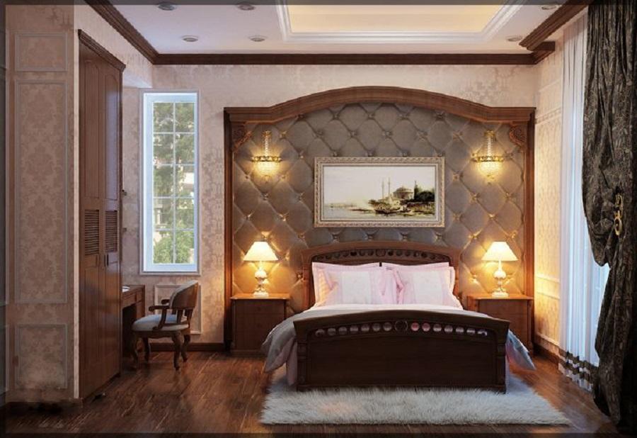 Mẫu phòng ngủ cổ điển đẹp