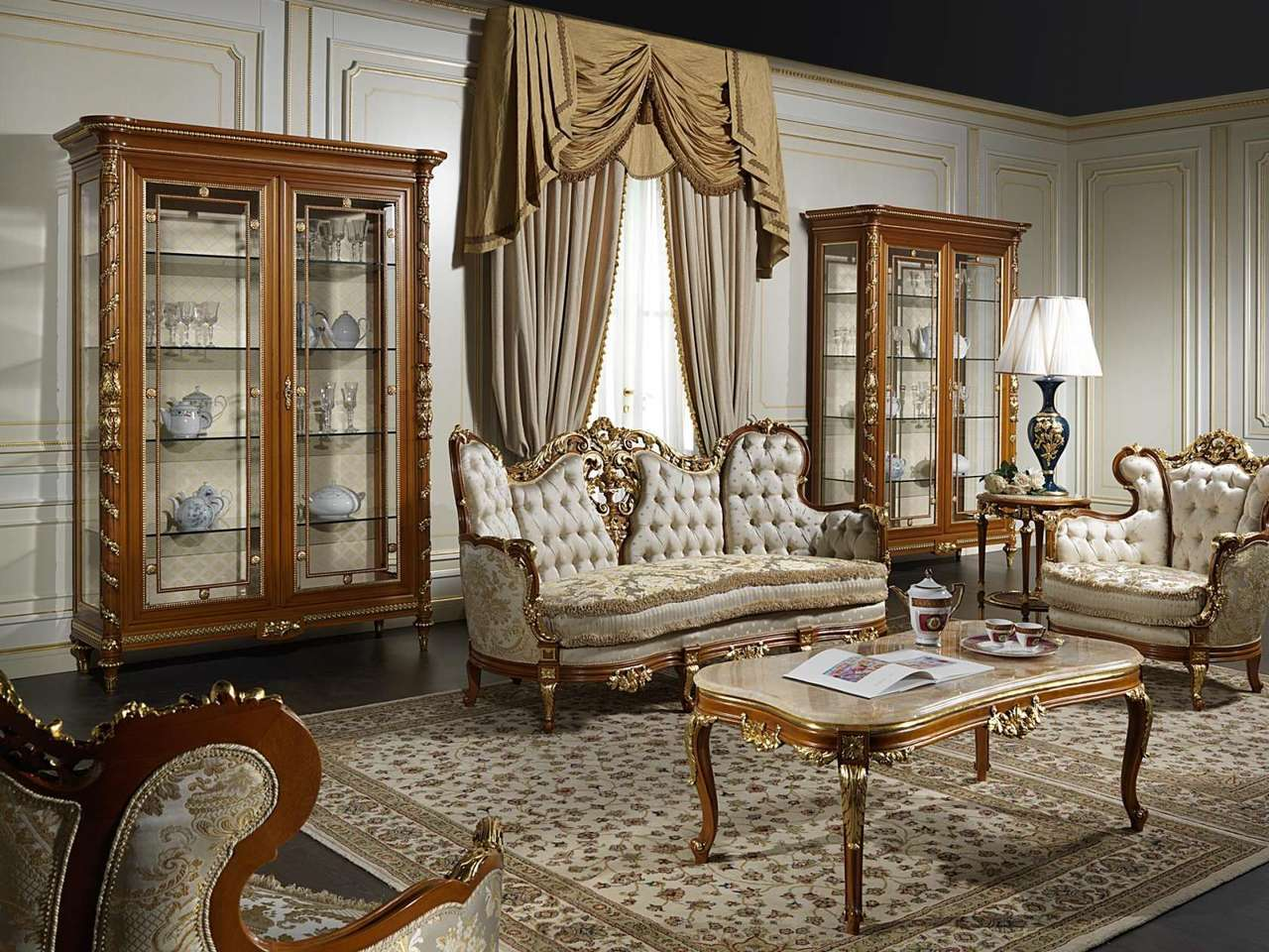 Phong cách nội thất cổ điển được giới thượng lưu ưa chuộng