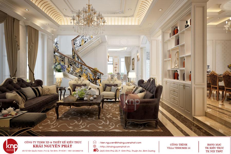 Nội thất phòng khách cần tránh các vật sắc nhọn