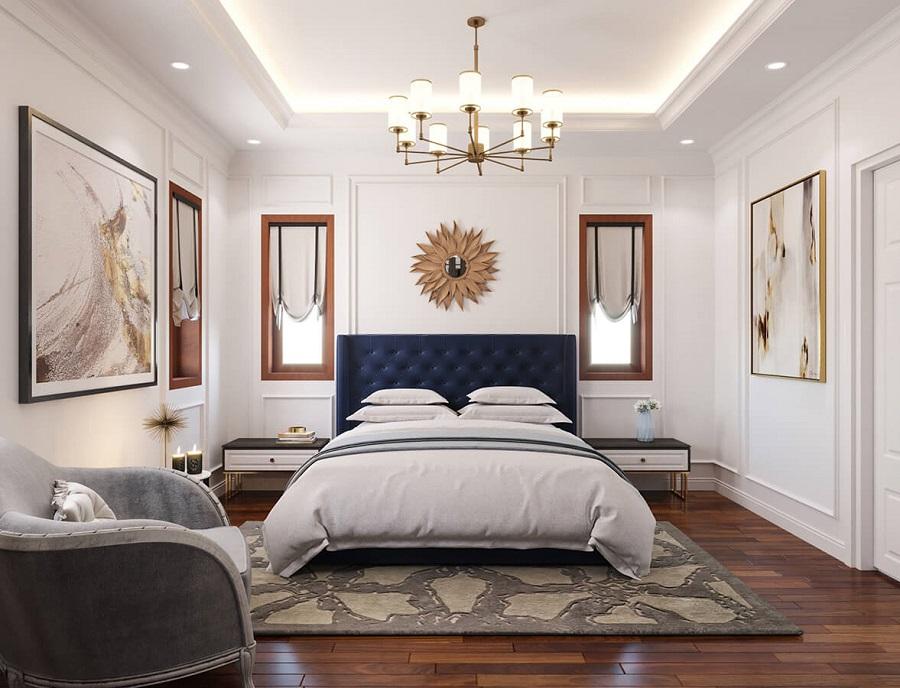 Phòng ngủ master phong cách tân cổ điển