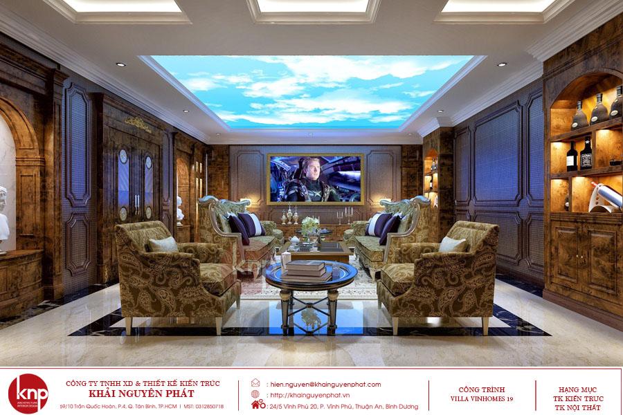 Mỗi một phong cách thiết kế phòng karaoke khác nhau về kiến trúc, cách bố trí nội thất, ánh sáng, đèn, màu sắc trang trí, trần, tường