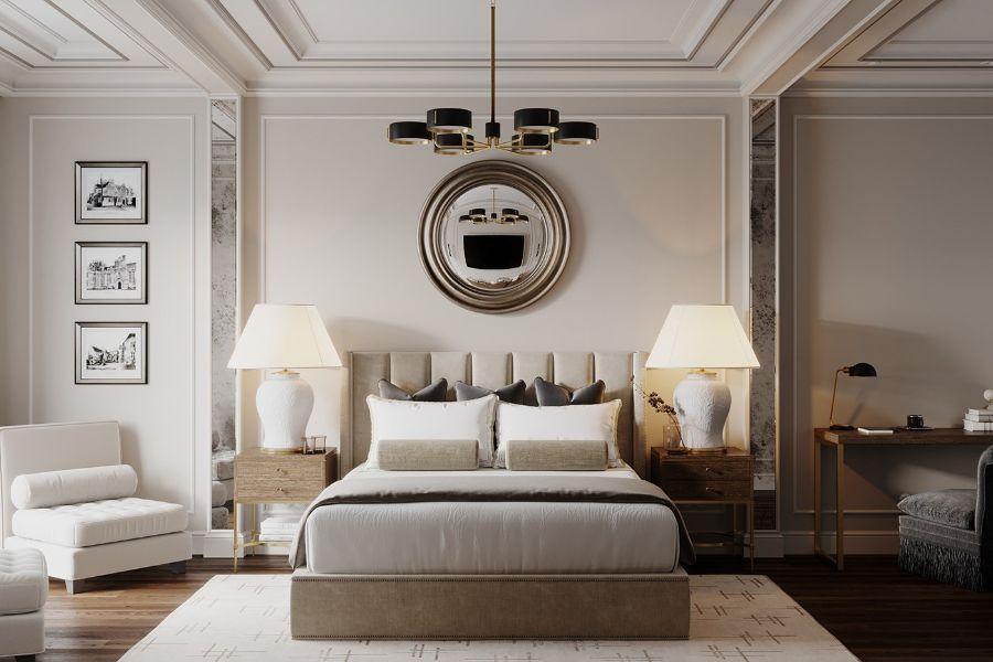 giường tân cổ điển